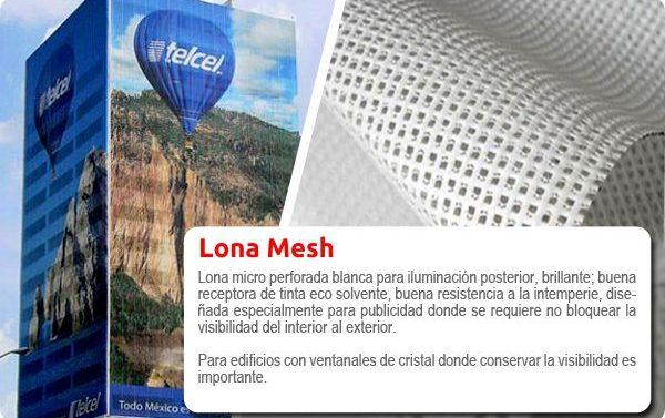 Impresión para exterior de Lona mesh