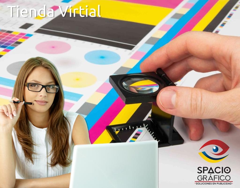 Tienda virtual Spacio Gráfico
